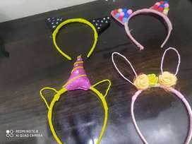 4 Pretty kitty hairbands at lower prices