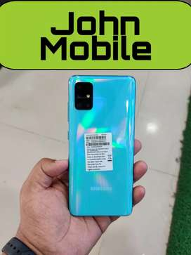 Samsung A51 (6/128) only 5 days used new condition