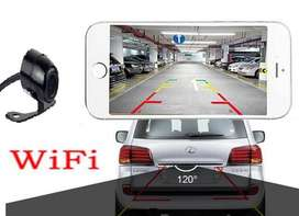 Car WiFi 12 volts Front or Rear Video Camera with Parking Assist