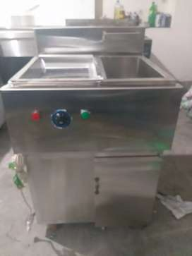 Fryer with sizzling 8 litrs sami auto SS non magnet