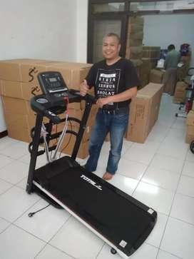 Promo Kota Batu - Treadmill Elektrik 4 Fungsi TL 607