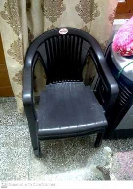 Chair and multiple use table
