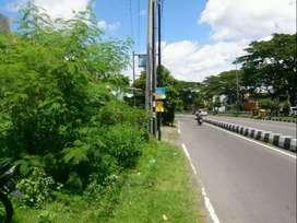 Tanah di Tepi Ringroad Selatan Barat Jalan Bantul LT 750 m2 Cocok Ruko