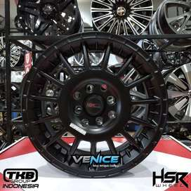 Velg mobil Ring 15 Agya, Calya, Avanza, Model Arrow HSR Di Venice