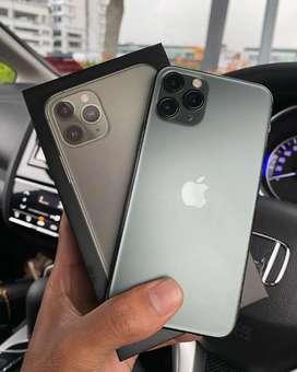 IPhone 11 Pro 64Gb Midnight Green Fullset Istimewa Mulusss