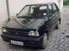 Maruti Suzuki 800, 2002