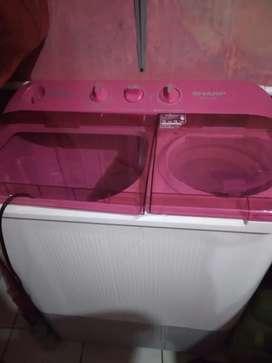 Mesin cuci 7,5 kg 3 bln pemakaian