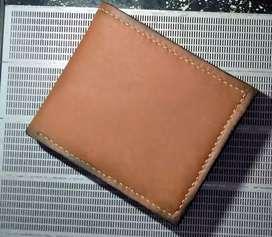 Dompet pria kulit asli jahit tangan
