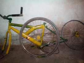 Cycle frame