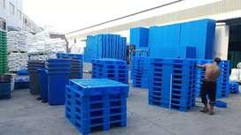 Ready pallet plastik /bok plastik /drum plastik/keranjang plastik