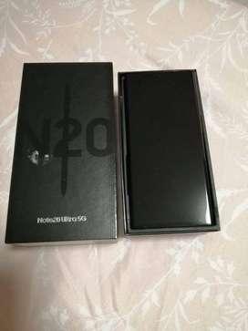 Samsung galaxy note 20 ultra 5G  12GB 512GB with 1 year    warranty un