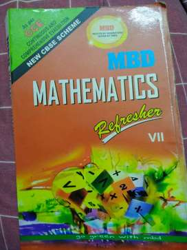 MBD maths Refresher guide