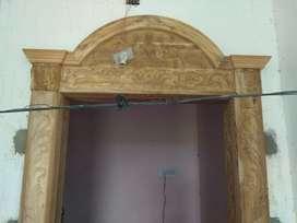 Tik wooden chowkath