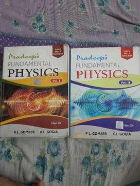 Pradeeps Fundamental Physjcs 12th VOL 1& VOL 2