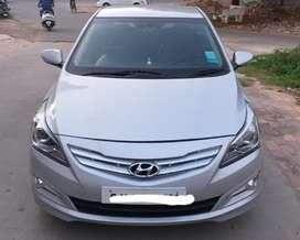 Hyundai Verna Fluidic 1.6 CRDi SX, 2015, Diesel