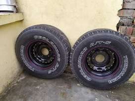 Yokohama tyre and rim for sale