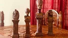Egyptian statues