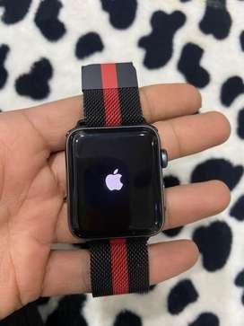 42mm Apple watch nike+ edition series 3 42mm black like new