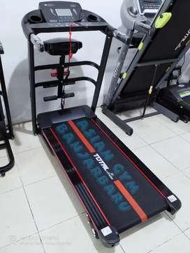Ready treadmill elektrik TL 618 2hp terbaru harga terjangkau