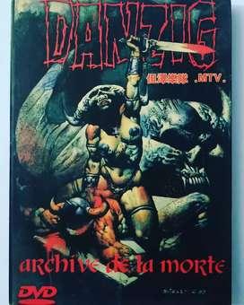 DVD DANZIG LIVE