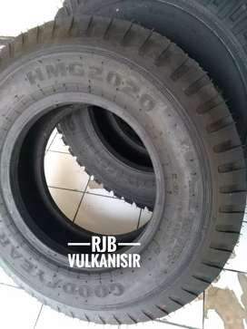 Ban truk cdd 750/16 vulkanisir motip gujer,gt,dan aulus