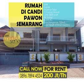 Disewakan Rumah di Candi Pawon Semarang