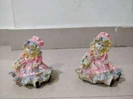 2 - Lady figurines