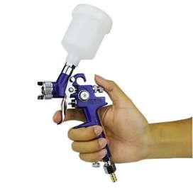 Taffware Professional Spray Gun Nozzle HVLP Airbrush 1.0mm H2000 Blue