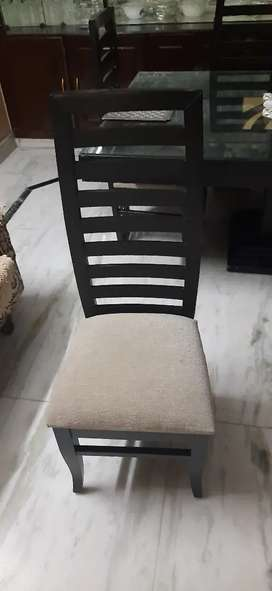 Dining table chairs per chair price 1800