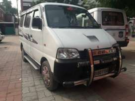 Eeco car for rent 8 rs k.m. and a.c. 9 Rs km eeco gadi with driver .