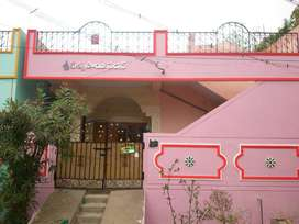 2BHK Individual house with car parking.