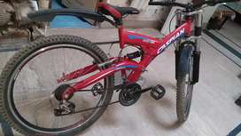 New condition gaire bicycle red colr