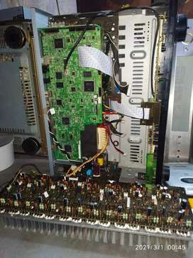 All kinds of audio amplifiers Repairs