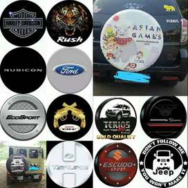 Cover/Sarung Ban Serep RocKY Toyota Rush/Terios#Jadi panther Antik CRV
