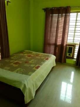 Furnished apartment for rent at Rajarhat bablatola kaliperk area