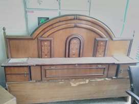 Double bed back side top