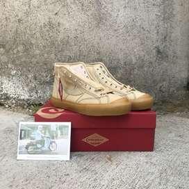 Sepatu Compass Gazelle Hi Cappucino