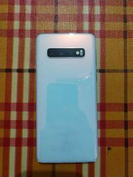 Galaxy S10 pearl white with 8gb RAM and 128 gb internal storage
