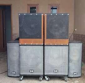 Jual satu set sound sistem
