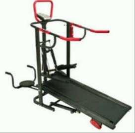 alat fitnes  treadmil 4 fungsi + pulse jantung