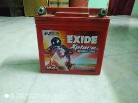 Exide Battery , bullet battery