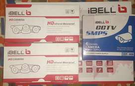 iBell CCTV HD DVR 4 Ch + 2 cameras + SMPS + 20 mtr cable