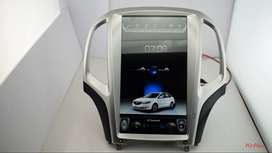 tesla screen for xuv santafe fortuner captiva cruze Mitsubishi Pajero