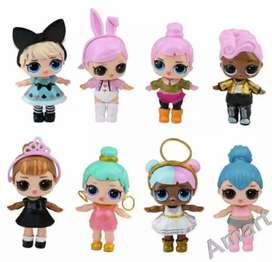 Lol surprise figures lucu mainan anak hijab