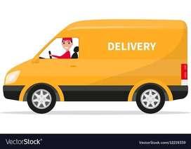 Van delivery partner