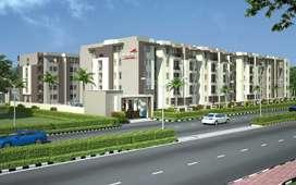 Nandanam 2BHK premium flat-90%loan 2.67lac Subsidy possession soon