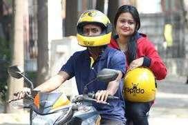 "Bangalore Rapido  ""Hiring for food And Bike riders"""""