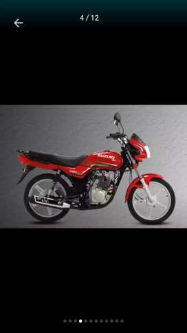 Suzuki GD110s New Sticker with self start,Alloy Rims sell very cheap…