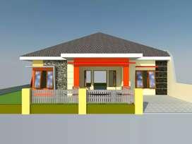 Dijual Rumah Tipe 140/180 Dekat Bandar Buat