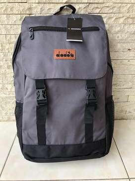 Diadora Grey Backpack Original